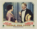 "Movie Posters:Comedy, Fools For Luck (Paramount, 1928). Lobby Card (11"" X 14"")...."