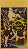 "Movie Posters:Musical, Gold Diggers in Paris (Warner Brothers, 1938). Midget Window Card(8"" X 14"")...."