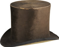 Ulysses S. Grant: A Well Documented Silk Top Hat Owned by and Worn by the 18th President