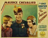 "The Smiling Lieutenant (Paramount, 1931). Lobby Cards (2) (11"" X 14"").... (Total: 2 Items)"