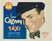 """Taxi (Warner Brothers, 1932). Title Lobby Card (11"""" X 14"""")"""