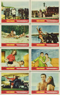 "Movie Posters:James Bond, Thunderball (United Artists, 1965). Lobby Card Set of 8 (11"" X14"").... (Total: 8 Item)"