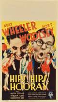 "Movie Posters:Comedy, Hips, Hips, Hooray (RKO, 1934). Midget Window Card (8"" X 14"")...."