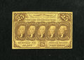 Fractional Currency:First Issue, Fr. 1281 25c First Issue Fine. This note is evenly circulated....