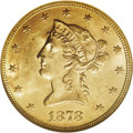 Liberty Eagles: , 1878 $10 MS64 NGC. After the rarities of the 1860s and mid-1870s,mintages of Liberty Head eagles jumped exponentially in t...
