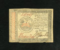 Colonial Notes:Continental Congress Issues, Continental Currency January 14, 1779 $35 Very Fine. This note hasdark signatures. A couple of minor edge blemishes are not...