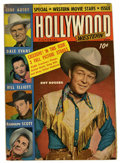 """Magazines:Miscellaneous, Hollywood Pictorial Western #4 Davis Crippen (""""D"""" Copy) pedigree(St. John, 1950) Condition: VG+...."""