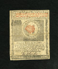 Colonial Notes:Rhode Island, Rhode Island July 2, 1780 $1 Extremely Fine. As expected, thecenter fold is the hardest fold on this note and it has a smal...