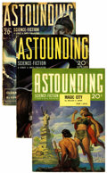 Pulps:Science Fiction, Astounding Stories Group (Street & Smith, 1930-43).... (Total:15)