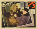 "Movie Posters:Crime, The Unholy Three (MGM, 1930). Lobby Card (11"" X 14"")...."