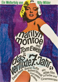 """Movie Posters:Comedy, The Seven Year Itch (20th Century Fox, R-1966). German A1 (23"""" X33"""")...."""