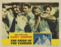 "Movie Posters:Sports, The Pride of the Yankees (RKO, 1942). Lobby Card (11"" X 14"")...."