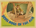 "Movie Posters:Action, Devil Dogs of the Air (Warner Brothers, 1935). Lobby Card (11"" X14"")...."