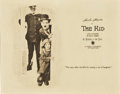 "Movie Posters:Comedy, The Kid (First National, 1921). Title Lobby Card (11"" X 14"")...."