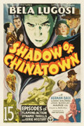 "Movie Posters:Serial, Shadow of Chinatown (Victory, 1936). Stock One Sheet (27"" X41"")...."