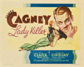 "Movie Posters:Comedy, Lady Killer (Warner Brothers, 1933). Title Lobby Card (11"" X14"")...."