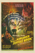 """Movie Posters:Adventure, Jungle Book (United Artists, 1942). One Sheet (27"""" X 41"""")...."""