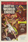 "Movie Posters:Science Fiction, Day the World Ended (American Releasing Corp., 1956). One Sheet(27"" X 41"")...."