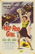 "Movie Posters:Bad Girl, Hot Rod Girl (American International, 1956). One Sheet (27"" X 41"")...."
