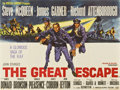 "Movie Posters:War, The Great Escape (United Artists, 1963). British Quad (30"" X40"")...."