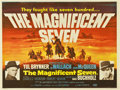 """Movie Posters:Western, The Magnificent Seven (United Artists, 1960). British Quad (30"""" X 40"""")...."""