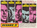 "Movie Posters:Crime, Ocean's 11 (Warner Brothers, 1960). British Quad (30"" X 40"")...."