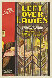 "Leftover Ladies (Tiffany, 1931). One Sheet (27"" X 41"")"
