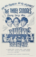 "Movie Posters:Short Subject, Rumpus in the Harem (Columbia, 1956). One Sheet (27"" X 41"")...."