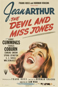 """Movie Posters:Comedy, The Devil and Miss Jones (RKO, 1941). One Sheet (27"""" X 41"""")...."""
