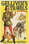 "Movie Posters:Animated, Gulliver's Travels (Paramount, 1939). Australian One Sheet (27"" X40"")...."