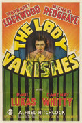 "Movie Posters:Hitchcock, The Lady Vanishes (Gaumont, 1938). One Sheet (27"" X 41"")...."