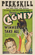 "Movie Posters:Drama, Winner Take All (Warner Brothers, 1932). Window Card (14"" X22"")...."