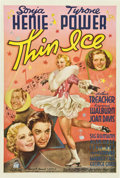 "Movie Posters:Comedy, Thin Ice (20th Century Fox, 1937). One Sheet (27"" X 41"") StyleB...."