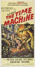 "Movie Posters:Science Fiction, The Time Machine (MGM, 1960). Three Sheet (41"" X 81"")...."