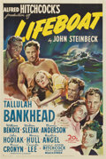 "Movie Posters:War, Lifeboat (20th Century Fox, 1944). One Sheet (27"" X 41"")...."