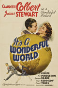 "Movie Posters:Comedy, It's a Wonderful World (MGM, 1939). One Sheet (27"" X 41"")...."