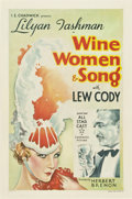 "Movie Posters:Drama, Wine, Women and Song (Chadwick Pictures, 1933). One Sheet (27"" X 41.5"")...."