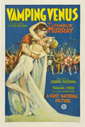 "Movie Posters:Comedy, Vamping Venus (First National, 1928). One Sheet (27"" X 41"")...."