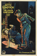 """Movie Posters:Drama, The Green Temptation (Paramount, 1922). One Sheet (27"""" X 41"""")...."""