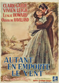 "Movie Posters:Academy Award Winner, Gone with the Wind (MGM, 1939). Pre-War Belgian (22"" X 30.5"")...."