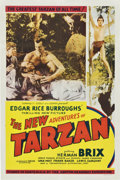 "Movie Posters:Serial, The New Adventures of Tarzan (Burroughs-Tarzan-Enterprise, 1935). One Sheet (27"" X 41"").. ..."