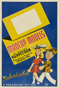 "Movie Posters:Animated, George Pal Puppetoon Stock ""Madcap Models"" (Paramount, 1941). OneSheet (27"" X 41"")...."
