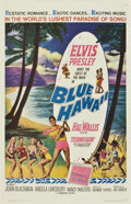 "Movie Posters:Elvis Presley, Blue Hawaii (Paramount, 1961). One Sheet (27"" X 41"")...."