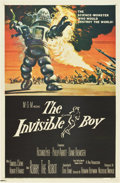 "Movie Posters:Science Fiction, The Invisible Boy (MGM, 1957). One Sheet (27"" X 41"")...."