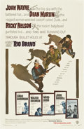 "Movie Posters:Western, Rio Bravo (Warner Brothers, 1959). One Sheet (27"" X 41"")...."