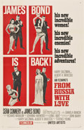 """Movie Posters:James Bond, From Russia with Love (United Artists, 1964). One Sheet (27"""" X 41"""")Style B...."""