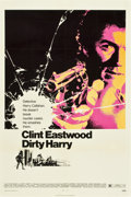 "Movie Posters:Crime, Dirty Harry (Warner Brothers, 1971). One Sheet (27"" X 41"")...."