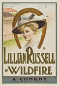 "Movie Posters:Drama, Wildfire (Theatrical Poster, c. 1906-1908). One Sheet (28"" X41"")...."