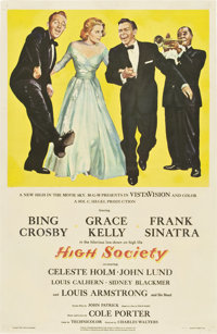 "High Society (MGM, 1956). One Sheet (27"" X 41"")"