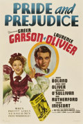 "Movie Posters:Drama, Pride and Prejudice (MGM, 1939). One Sheet (27"" X 41"") Style D...."
